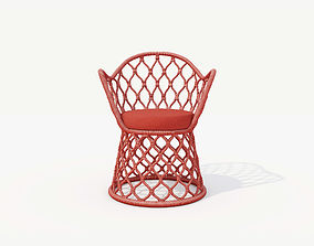 3D model TIDELLI PAINHO AIRCHAIR