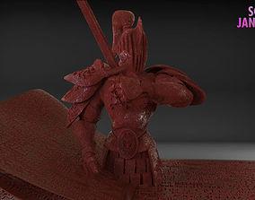 3D print model Stylized Fantasy Knight