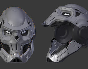 spider man taskmaster helmet 3D printable model