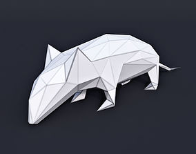 3D model Mouse Low Poly