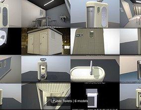 3D Public Toilets