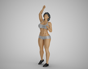 Volleyball Girl 4 3D print model