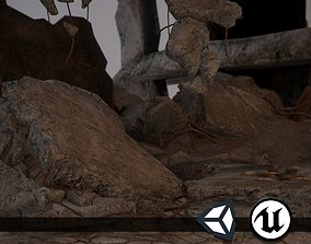 3D asset Rubble and Debris - Package - Collection 1 and 2