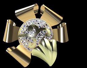 3D print model Gold ring 187