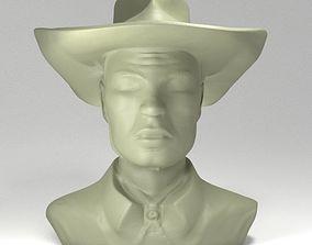 3D print model TexWiller Bust