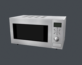 Simple Oven 3D model