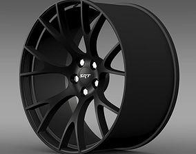 Dodge Challenger Supercharged rim 3D model