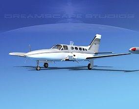 3D model Cessna 414 Chancellor V15