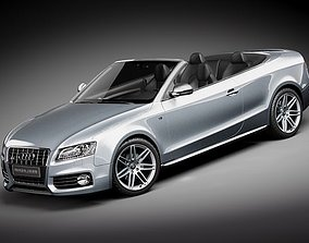 3D Audi S5 convertible 2010 fast