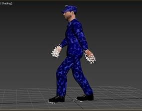 fsin sotrudnik 3D asset animated