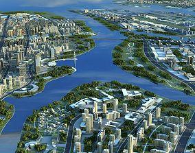 3D City scene 01