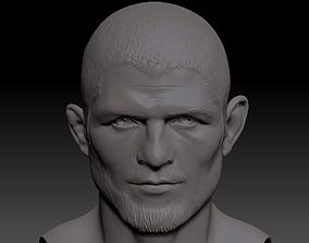 mma Khabib Nurmagomedov MMA UFC 3D Print