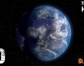 3D print model Planeta Tierra -JD