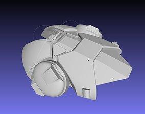 Overwatch Brigitte Armor Backpack 3D print model
