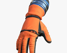 Gloves of NASA OCSS Astronaut Spacesuit Orion 3D model