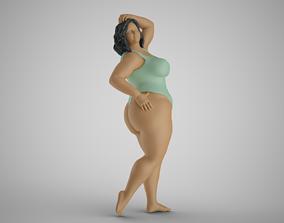 3D print model Woman Vacationer