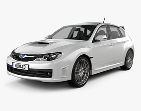 3D Subaru Impreza WRX STI with HQ interior 2010