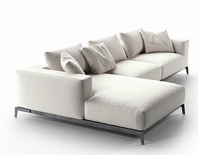Ettore Sofa contemporary 3D