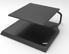 Thinkpad Laptop Stand 3D Model computer