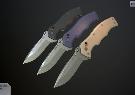 Clasp knives vulcan vol pack