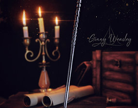 3D printable model GINNY WEASLEY WAND - HARRY POTTER