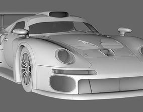 3D Porsche 911 GT1 1996 polygon