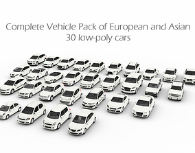 Complete Vehicle Pack EA 3D asset