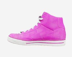 3D asset Pink Sneakers
