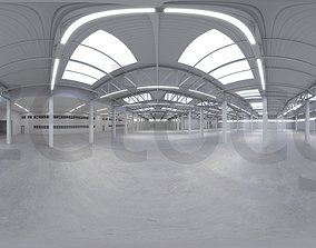 3D model HDRI - Industrial Warehouse Interior 2