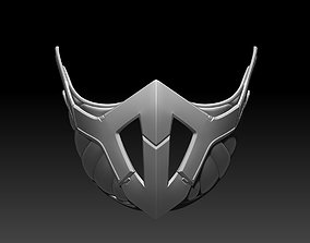 Frost mask for cosplay 2 in 1 Mortal 3D printable model 3