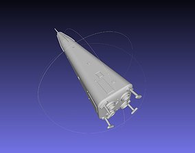 booster Delta Clipper MD DC-X Printable Miniature