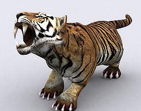 3DRT - Fantasy Animal TIger animated