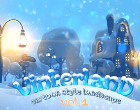 3D model Vinterland