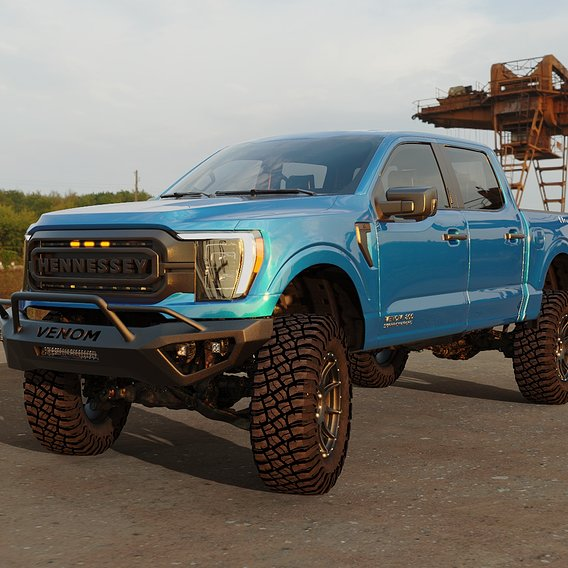 Ford F150 2021 VENOM 800 SuperCharged Hennessey