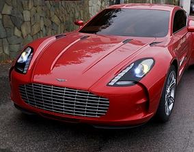 car Aston Martin One 77 3D model