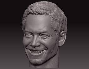 Paul Walker 3D printable model