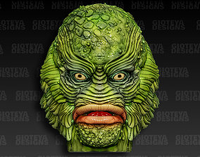 3D Creature from The Black Lagoon Head for Action Figure