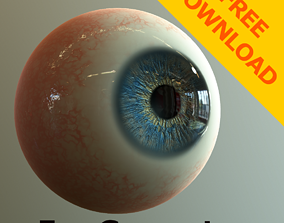 3D model Eye Generator - Substance Designer