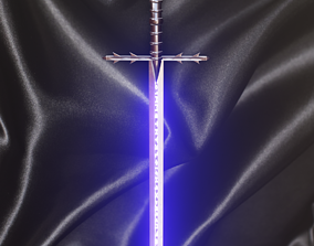 3D model Cold Steel Two Handed Great Sword