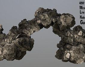 3D asset VR / AR ready stone mount Rocks