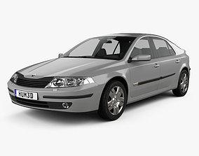 3D model Renault Laguna liftback 2000
