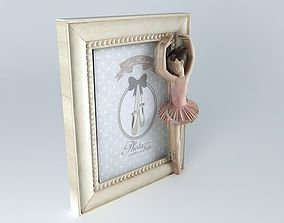 Dancer photo frame houses the world 3D