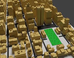 Cityscape 3D asset