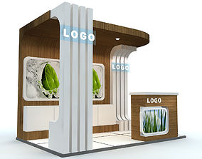 Exhibition Stand business 3D