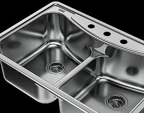 3D model Sink Franke EFBFG904BX