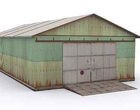Hangar-1 3D model