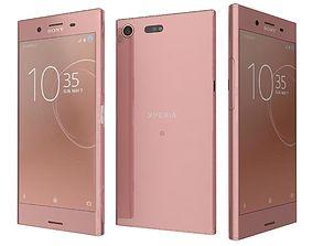 Sony Xperia XZ Premium Bronze Pink 3D model