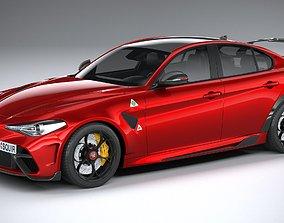 Alfa Romeo Giulia GTAm 2021 3D
