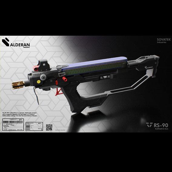 Alderan RS-90 Sub Machine Gun