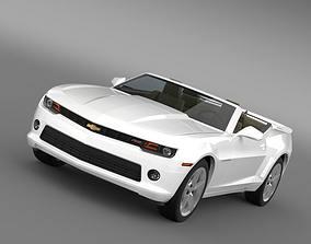 3D Chevrolet Camaro RS Convertible 2014